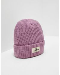 Vivienne Westwood - Mens Patch Beanie - Online Exclusive Pink - Lyst