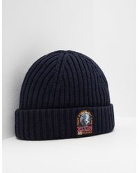 Parajumpers - Mens Beanie Navy Blue - Lyst