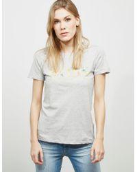 BOSS - Womens Ti Short Sleeve T-shirt Grey - Lyst