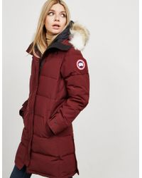 Canada Goose - Shelburne Padded Parka Jacket Red - Lyst