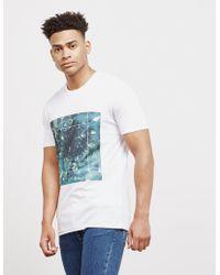 Pal Zileri - Mens Geometric Short Sleeve T-shirt White - Lyst
