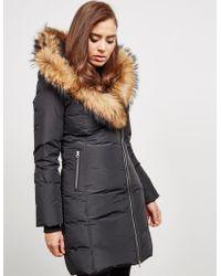 Mackage - Womens Trish Fur Padded Jacket - Online Exclusive Black - Lyst