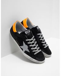 Golden Goose Deluxe Brand - Superstar Trainers Black - Lyst