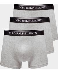 Polo Ralph Lauren - Mens 3-pack Boxer Shorts Grey - Lyst