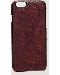 Calvin Klein - Poppy Iphone 6s Cover - Lyst