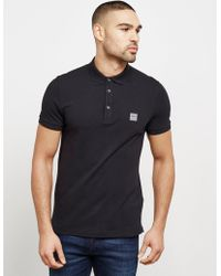 BOSS - Mens Passenger Short Sleeve Polo Shirt Black - Lyst