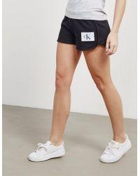 739e79bbee13 Calvin Klein 205W39Nyc Women s True Icon Ck Badge Short Light Grey ...