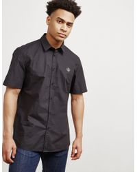 Love Moschino - Mens Peace Short Sleeve Shirt - Online Exclusive Black - Lyst