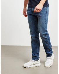 Barbour - Mens International Regular Jeans Blue - Lyst
