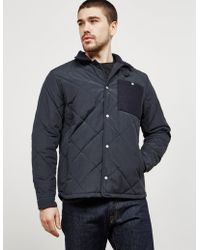 Barbour - Mens Elm Lightweight Quilted Jacket Navy Blue - Lyst