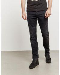 Neil Barrett - Mens Biker Jeans - Online Exclusive Grey - Lyst