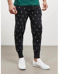 Polo Ralph Lauren - Mens Underwear All Over Print Fleece Pants Black - Lyst