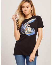 Vivienne Westwood - Womens Anglomania Scribble Orb T-shirt Black - Lyst