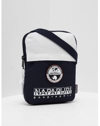 Napapijri - Mens Happy Cross Body Bag Navy/white - Lyst