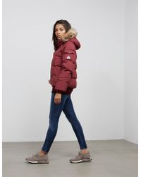 Pyrenex - Aviator Padded Jacket Red - Lyst