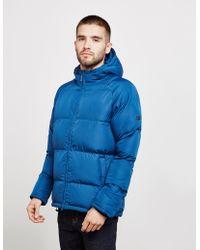 Barbour - Mens International Derny Quilted Jacket Blue - Lyst