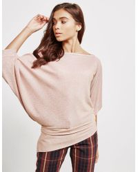 Vivienne Westwood - Womens Anglomania Infinity Three Quarter Sleeve Top Pink - Lyst