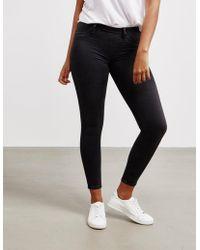 True Religion - Womens Denim Stretch Jeans Black - Lyst