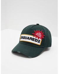 DSquared² - Mens Strip Logo Cap Khaki - Lyst