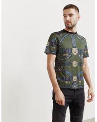 ab830cead9 Versus Mens Milano Short Sleeve T-shirt - Online Exclusive Black in ...