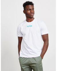 Iuter - Bengala Short Sleeve T-shirt - Exclusively To Tessuti White - Lyst