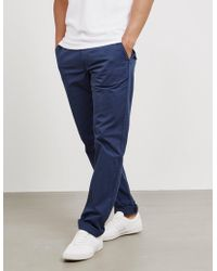 PS by Paul Smith - Mens Pima Tapered Chinos - Online Exclusive Navy Blue - Lyst