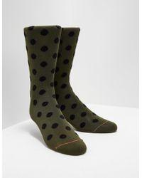 PS by Paul Smith - Mens Pattern Socks Green - Lyst