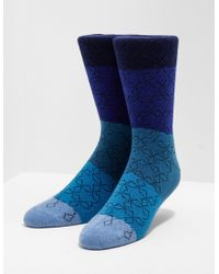 PS by Paul Smith - Mens Stella Stripe Socks Blue - Lyst