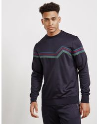 PS by Paul Smith - Mens Double Face Crew Sweatshirt Navy Blue - Lyst