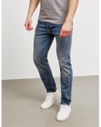 Edwin - Mens Ed80 Yoshiko Slim Tapered Jeans Blue - Lyst