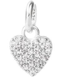 Kirstin Ash - Bespoke Crystal Heart Charm - Lyst