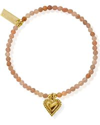 ChloBo - Cherabella Graceful Heart Bracelet - Lyst