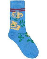 Becksöndergaard - Daphne Sporty Flower Socks - Lyst