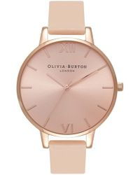 Olivia Burton - Big Dial Watch - Lyst