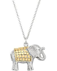 Anna Beck - Elephant Charity Necklace - Lyst