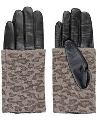 Becksöndergaard - Barre Leather Gloves - Lyst