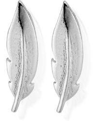 ChloBo   Inner Spirit Cuff Feather Earrings   Lyst