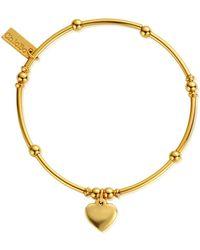 ChloBo - Mini Noodle Ball Heart Bracelet - Lyst