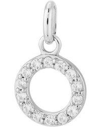 Kirstin Ash - Bespoke Crystal Circle Outline Charm - Lyst