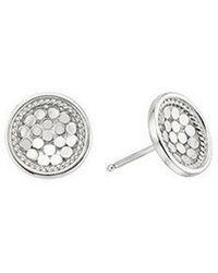 Anna Beck - Dish Stud Earrings - Lyst