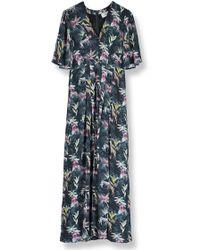 Pyrus - Dahliah Maxi Silk Dress - Lyst