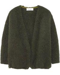 American Vintage Boolder Long Sleeve Cardigan - Green