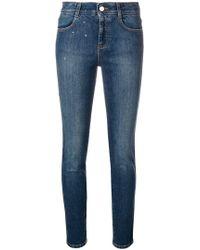 Stella McCartney - Star Stud Skinny Jeans - Lyst