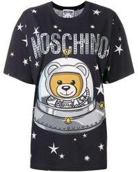 Moschino - T-shirt `space Teddy` - Lyst