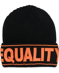 Versace - Equality Embroidered Hat - Lyst