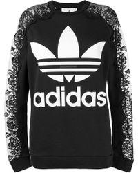 Lyst - Alexander Wang Adidas Originals By Aw Bleach Joggers in Black 24b1dc7c978b6