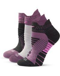Nike | Womens Three-pack Dry Cushioned Low Training Socks | Lyst