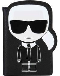 Karl Lagerfeld - Paspoort Houder K/ikonik - Lyst