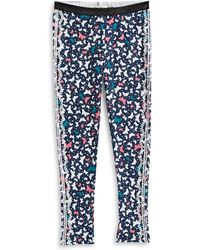 Jessica Simpson - Olive Butterfly Printed Leggings - Lyst