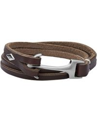 Fossil - Casual Heren Armband - Lyst